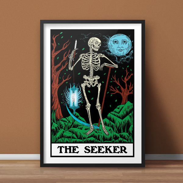 The Seeker A3 Print - Supreme Elements  - 1