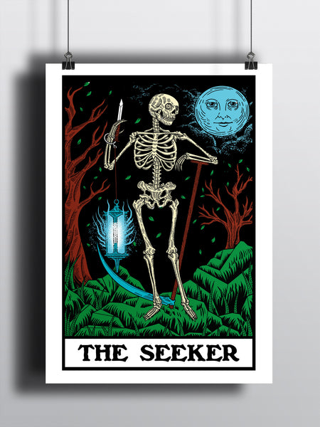 The Seeker A3 Print - Supreme Elements  - 2