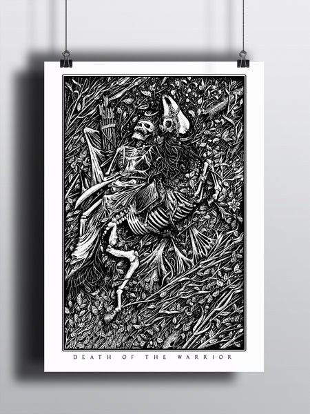 Death of the Warrior A3 Print - Supreme Elements  - 2