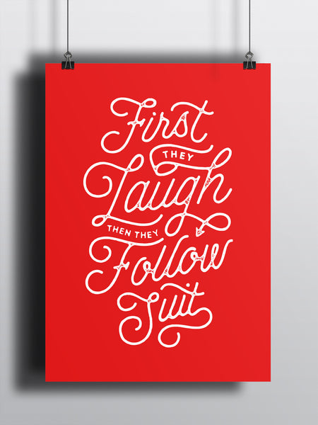 Follow Suit A3 Print - Supreme Elements  - 2