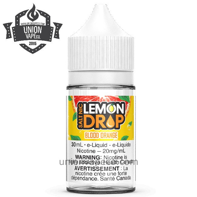 Lemon Drop Salt Nic - Blood Orange (30ml)