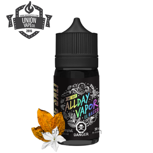 ALL DAY SALT NIC EL Bacco (30ml)