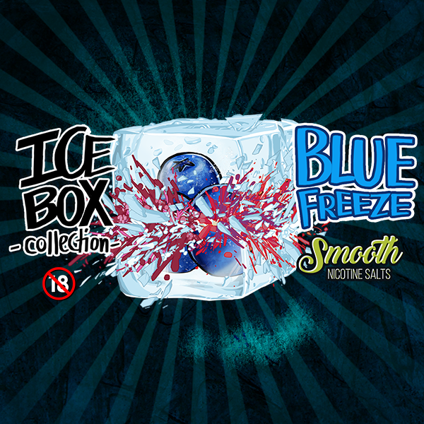 Smooth Nic Salts - Blue Freeze (30ml)