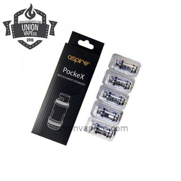 Aspire Pockex Coil 5 pack 0.6ohm