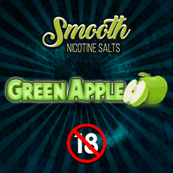 Smooth Nic Salts - Green Apple (30ml)