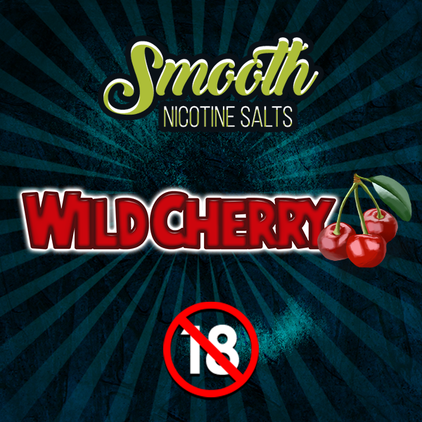 Smooth Nic Salts - Wild Cherry (30ml)