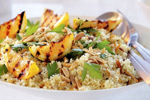 Almond and Pistachio Dukkah Couscous