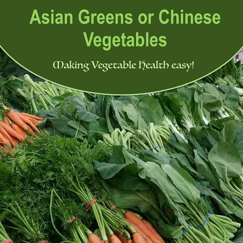 Asian Greens Or Chinese Vegetables