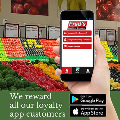 We reward all our loyalty app customers