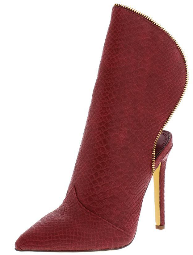 Utopia Oxblood Heel - Saje Boutique