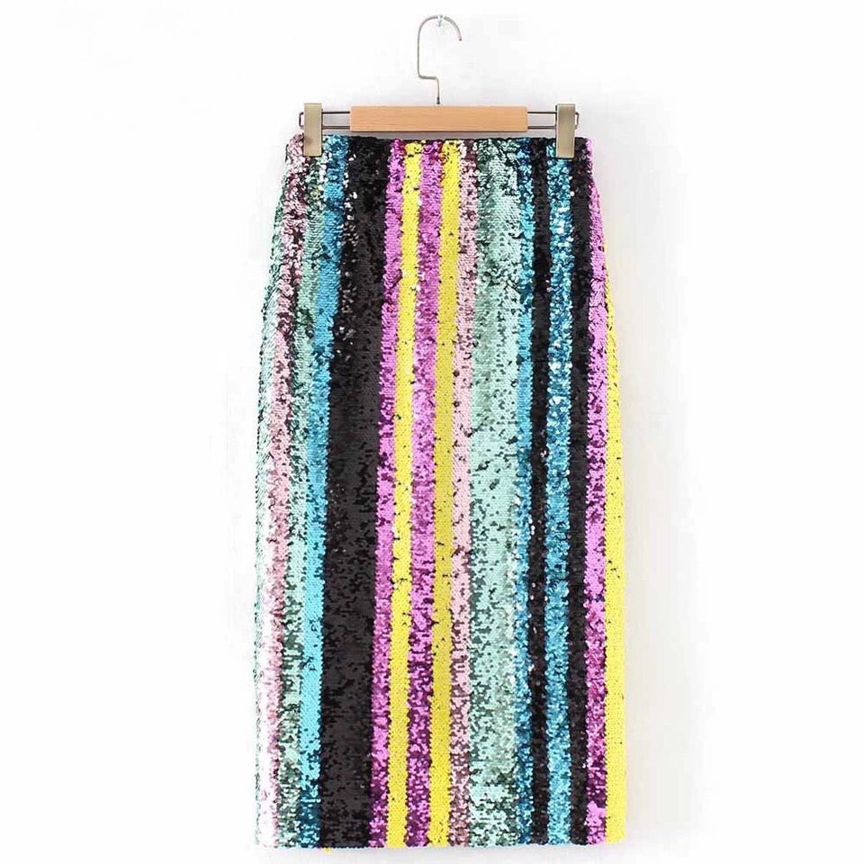 Roxbury Sparkle Pencil Skirt - Saje Boutique