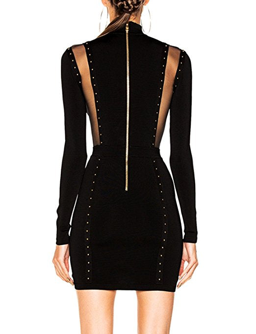 Friday Night Fever Bandage Dress - Saje Boutique