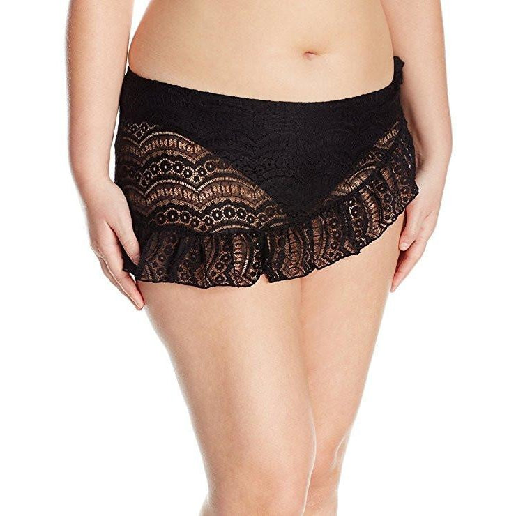 A Lady In Lace Plus Size Swim Skirt - Saje Boutique