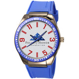 Folds of Honor Captivate (Blue w/ silver dial)