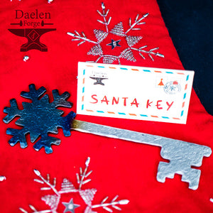 Santa Keys - Hand Forged Keys for Christmas