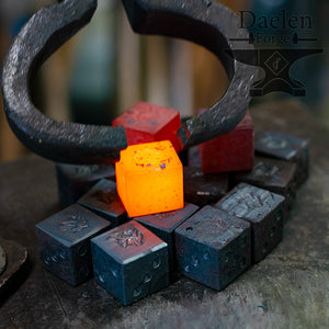Hand Forged Dice  D6
