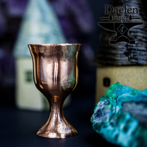 Copper Faerie Chalices