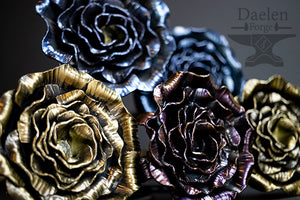 Eternal Steel Roses