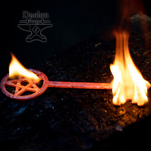 Keys of Knowledge - Iron Keys for Ceremonial and Altar Use