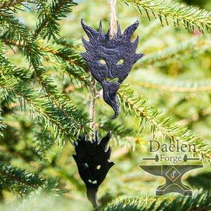 Krampus Solstice (Christmas) Ornament