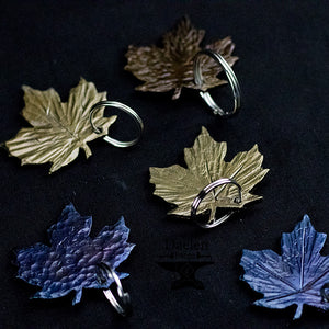 Maple Leaf Key Chain