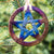Pentacle Solstice (Christmas) Ornament