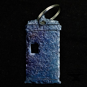 Police Box Key Chain