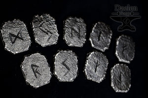 Rune Tokens - Hand Forged - (Elder Futhark)