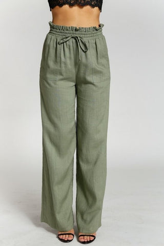 Carey Linen Pants