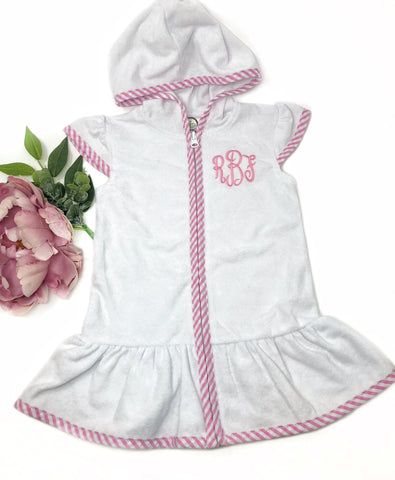 Monogram Cover Up Dress