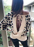 Wildcat Open Back Sweater