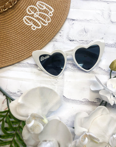 Bride Heart Shaped Sunnies