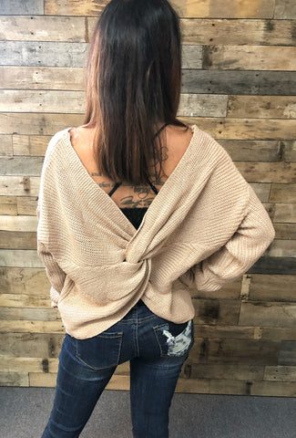Kasey Twisted Sweater