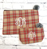 Monogrammed Make-up Bag