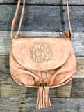 Foldover Crossbody Purse