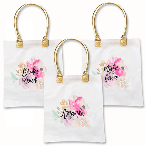 Watercolor Totebags