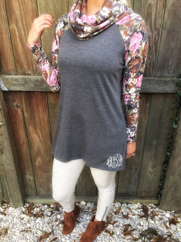 Blossom Into Fall Pullover