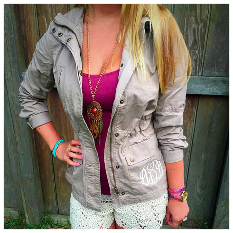Safari Jacket- 2 colors