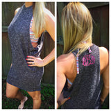 Hi-Low Tunic Dress - 2 colors
