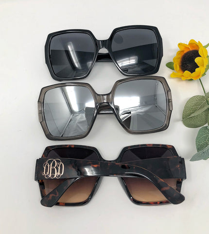 APRIL GIFT OF THE MONTH - Monogrammed Sunglasses