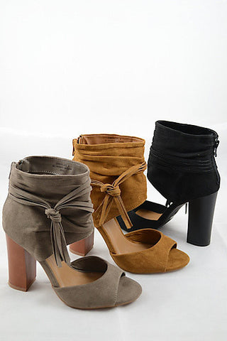 Show Stopper Booties - 3 colors