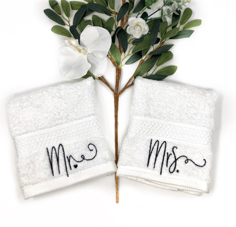 Mr. & Mrs. Washcloths