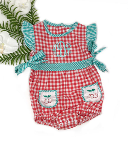 She's the Cherry on Top Romper