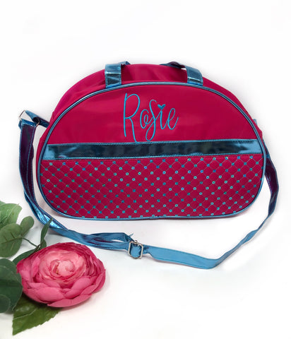 Monogrammed Girls Bag