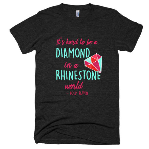 It's Hard to Be a Diamond Vintage Shirt Unisex Style
