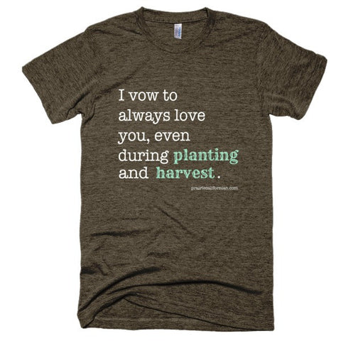 Always Love You Farming Vintage Shirt Unisex Style