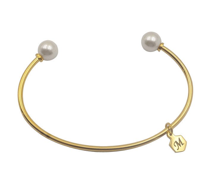 Pearl Bangle, Bangle, Modestly
