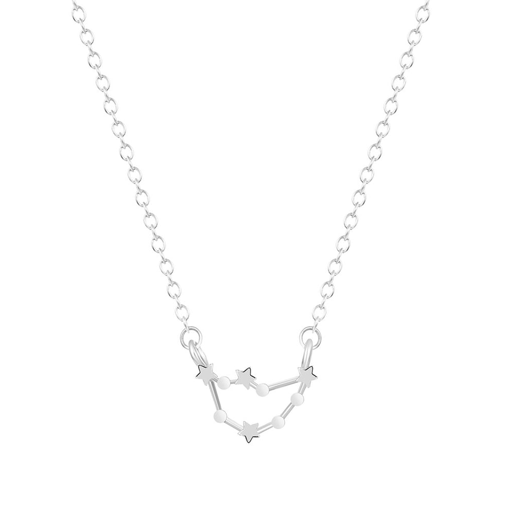 Capricorn Zodiac Necklace, Necklace, Modestly