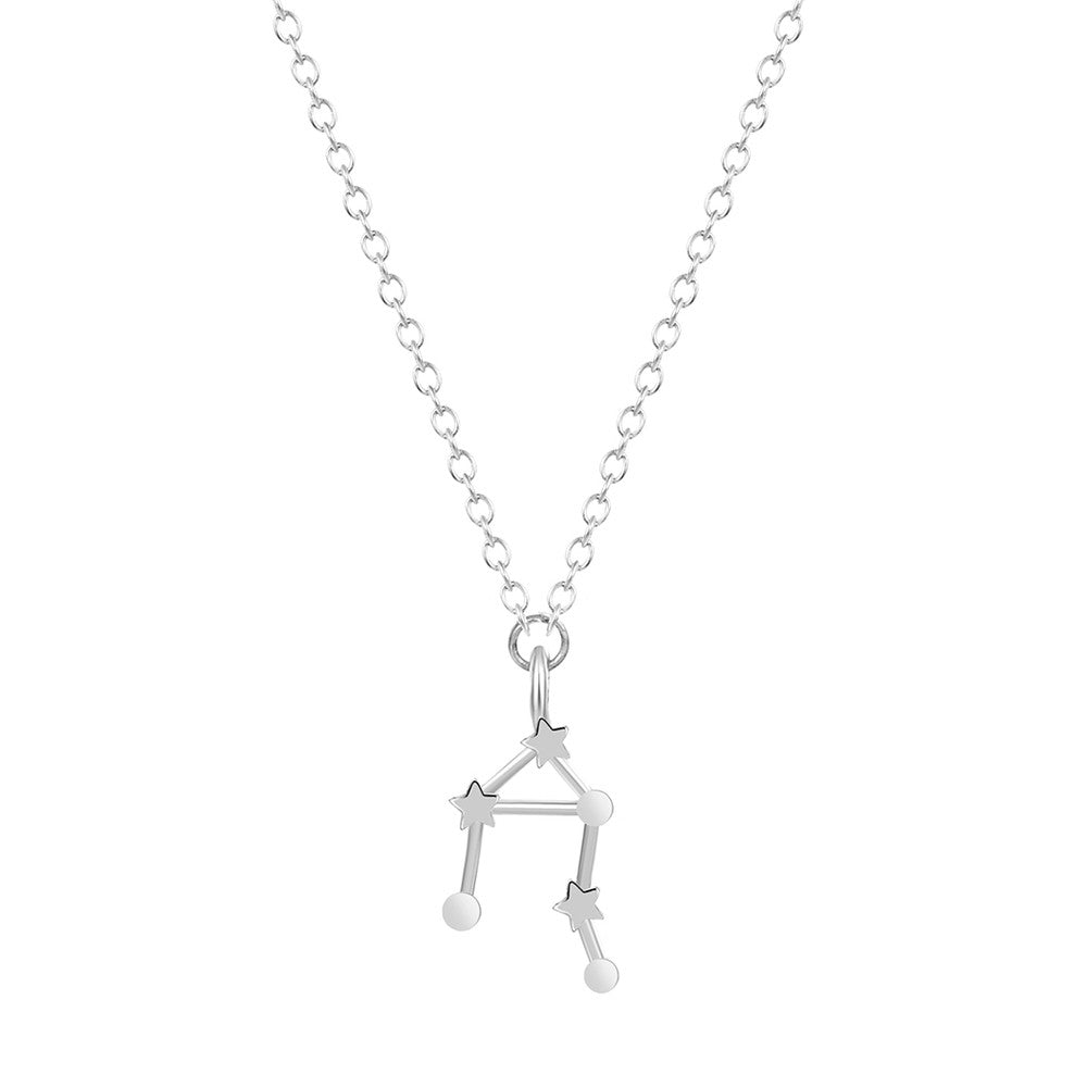 Libra Zodiac Necklace, Necklace, Modestly