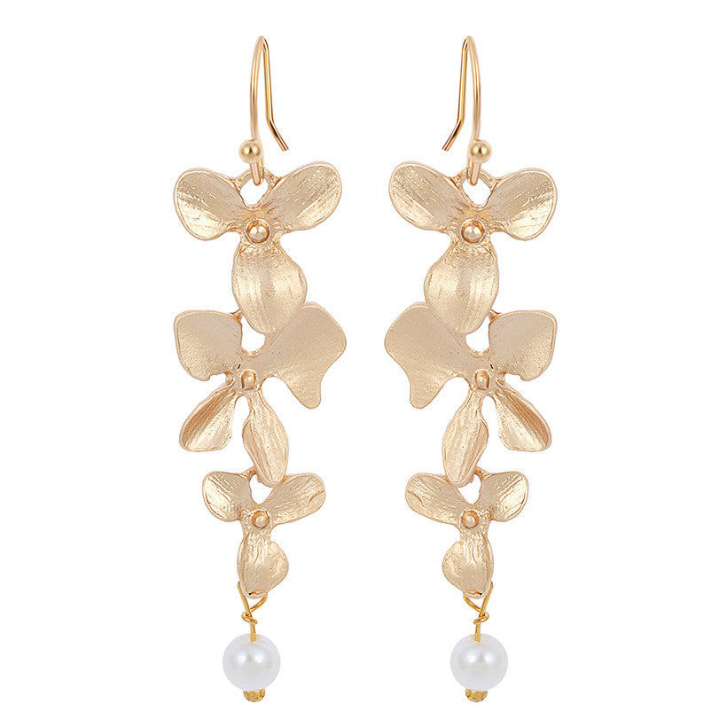 Orchid Earrings, Earring, Modestly